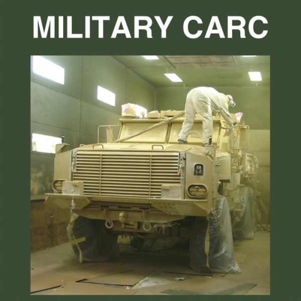 Military CARC Production Paint Finishers